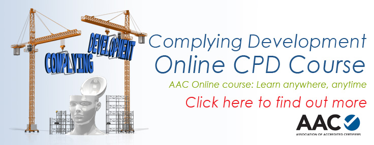 Complying Development Course online